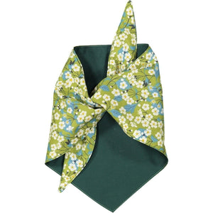 Baker & Bray Dog Apparel Large Mitsi Dog Bandana by Baker & Bray - Green PetsOwnUs - Pets Own Us
