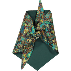 Baker & Bray Dog Apparel Large Paisley Dog Bandana by Baker & Bray - Green PetsOwnUs - Pets Own Us