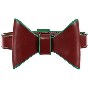 Pimlico Dog Bow Tie by Baker & Bray - Tan/Green - PetsOwnUs