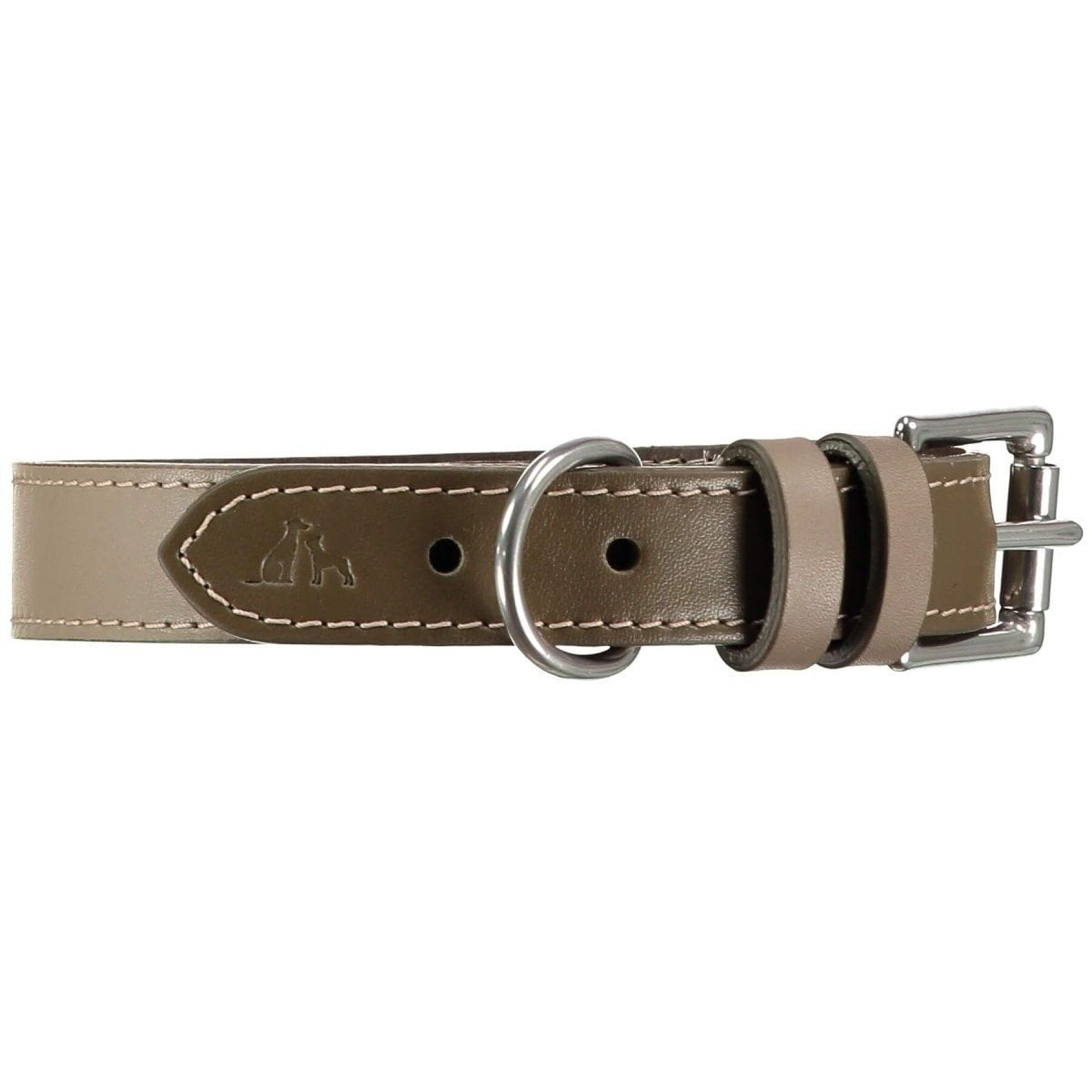Baker & Bray Dog Apparel X-Small Richmond Dog Collar by Baker & Bray - Earth/Truffle BB-41-01-16-XS PetsOwnUs - Pets Own Us
