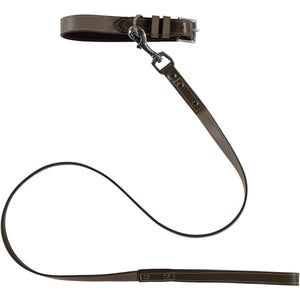 Baker & Bray Dog Apparel X-Small Richmond Dog Collar & Lead Set by Baker & Bray -  Earth/Truffle BB-41-01-16-XS & BB-52-01-16 PetsOwnUs - Pets Own Us