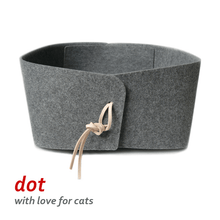 cats&co Cat Beds Default Title DOT_felt Cat Lair and Bed by cats&co - iF Design 2017 Award Winner PetsOwnUs - Pets Own Us