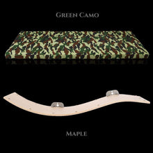 Cosy and Dozy Cat Shelf- Bed CHILL DELUXE Cat Shelf & Perch By Cosy and Dozy - Green CAMO & Maple PetsOwnUs - Pets Own Us