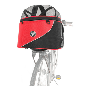 Dutch Dog Pet Carrier & Crates DoggyRide Cocoon Bike Carrying Basket | Standard | Red | Dutch Dog Design® PetsOwnUs - Pets Own Us