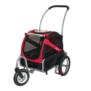 Dutch Dog Pet Pushchairs and Strollers DoggyRide Mini Dog Stroller | Red | Dutch Dog Design® DRMNST02-RD PetsOwnUs - Pets Own Us