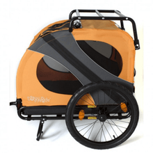 Dutch Dog Pet Pushchairs and Strollers Novel 10 DoggyRide Dog Bike Trailer by Dutch Dog - Orange PetsOwnUs - Pets Own Us