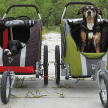 Dutch Dog Pet Pushchairs and Strollers Novel DoggyRide Dog Jogger/Stroller by Dutch Dog - Green (incl. leash set) PetsOwnUs - Pets Own Us
