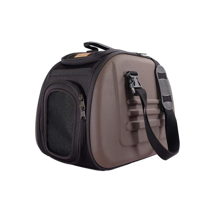 Classic Pet Carrier by Ibiyaya® - Brown