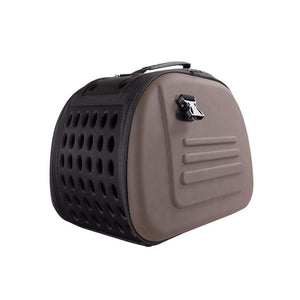 Ibiyaya Pet Carriers and Crates Classic Pet Carrier by Ibiyaya - Brown FC47656 PetsOwnUs - Pets Own Us