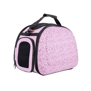 Ibiyaya Pet Carriers and Crates Collapsible Shoulder Pet Carrier by Ibiyaya - Baroque FC1420-BQ PetsOwnUs - Pets Own Us