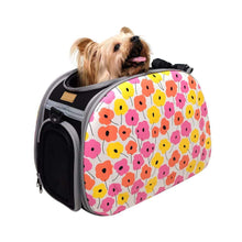 Ibiyaya Pet Carriers and Crates Collapsible Shoulder Pet Carrier by Ibiyaya - Poppy FC1420-FL PetsOwnUs - Pets Own Us