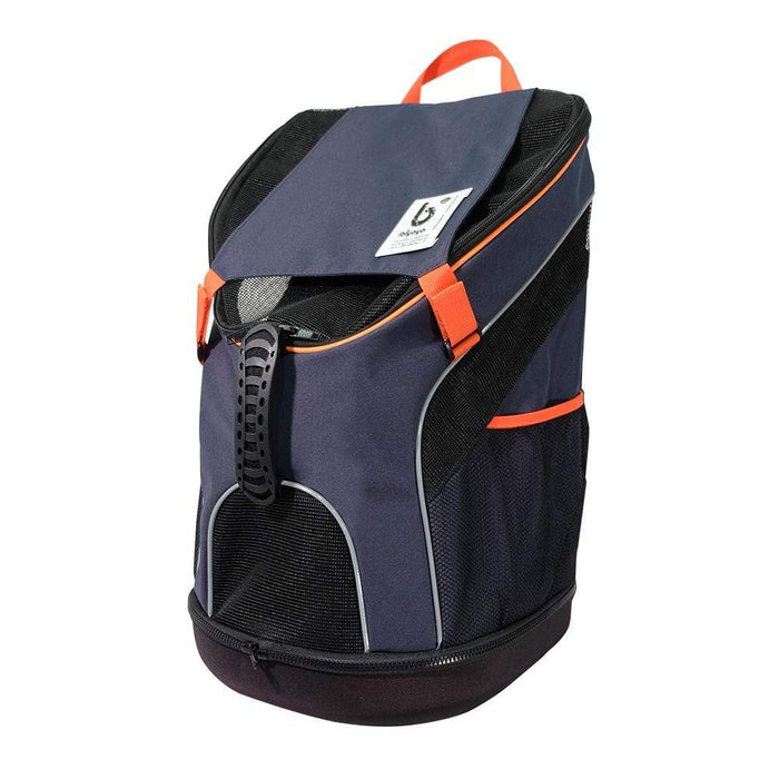 Ultralight Backpack Pet Carrier by Ibiyaya - Navy Blue