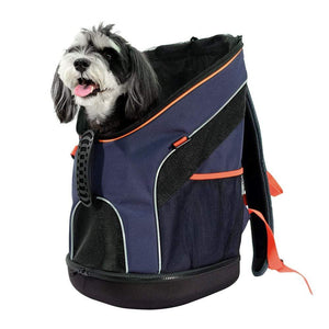 Ibiyaya Pet Carriers and Crates Ultralight Backpack Pet Carrier by Ibiyaya - Navy Blue FC1606-NB PetsOwnUs - Pets Own Us