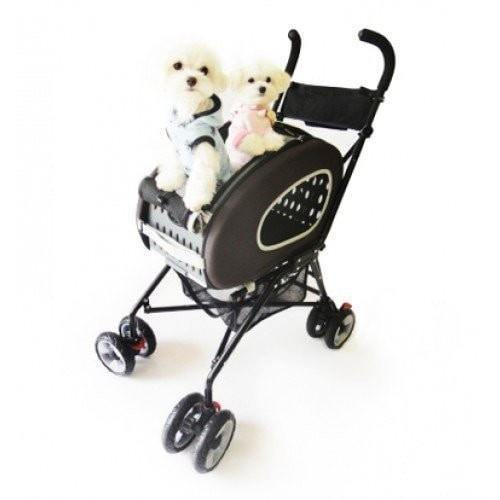 Innopet Pet Pushchairs and Strollers Chocolate 5 in1 Pet Stroller Combo by Innopet- Blue IPS-020C PetsOwnUs - Pets Own Us