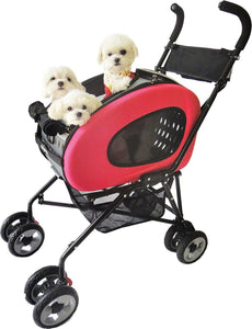 Innopet Pet Pushchairs and Strollers Pink 5 in1 Pet Stroller Combo by Innopet- Blue IPS-020P PetsOwnUs - Pets Own Us