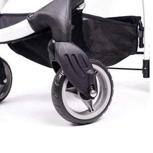 Innopet Cleo Denim Express Buggy Cat Stroller wheel system - Pets Own Us
