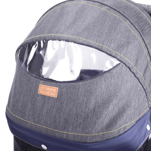 Innopet Cleo Denim Express Buggy Cat Stroller spacious cabin- Pets Own Us
