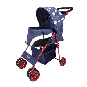 Innopet 3 wheel dog strollers Ibiyaya Pop Art Pet Stroller by Innopet – Starlit Captain IPS-034/OX-2 PetsOwnUs - Pets Own Us