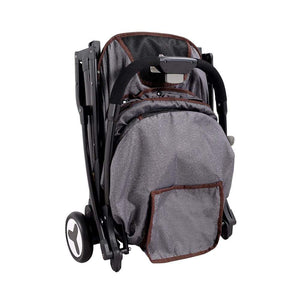 Innopet 3 wheel dog strollers Ibiyaya Speedy Fold Pet Buggy by Innopet – Grey Jeans PetsOwnUs - Pets Own Us