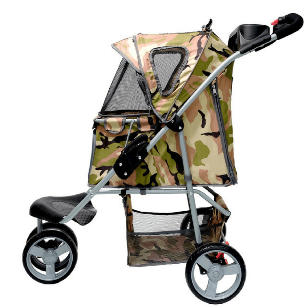 Shop Camouflage Buggy Pet Stroller from Innopet - IPS-010 ...