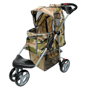 Innopet Pet Pushchairs and Strollers Default Title New All Terrain Buggy Pet Stroller by Innopet -  Camouflage IPS-010/C-1 PetsOwnUs - Pets Own Us