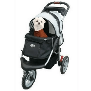 Innopet Pet Pushchairs and Strollers Pet Stroller Buggy Comfort EFA by Innopet, Black/Silver IPS-070/BS PetsOwnUs - Pets Own Us