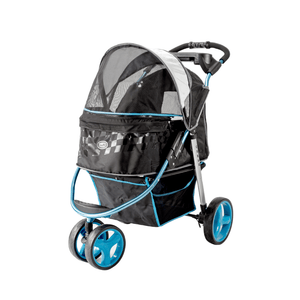 Innopet Pet Pushchairs and Strollers Urban Blue Luxury Buggy Pet Stroller by Innopet IPS-065/B PetsOwnUs - Pets Own Us