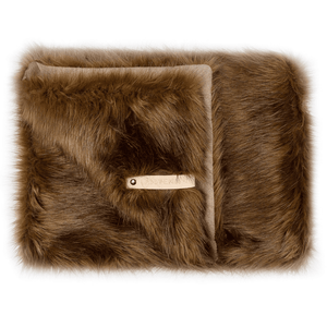 Labbvenn Dog Blanket Medium / Light Brown FÖRA Luxury Dog Blanket by Labbvenn - Brown PetsOwnUs - Pets Own Us