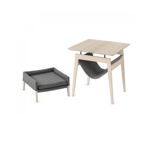 Labbvenn KIKKO Table & LULU Bed By Labbvenn - Anthracite PetsOwnUs - Pets Own Us