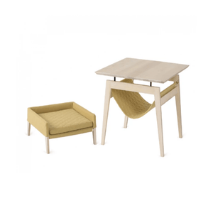 Labbvenn KIKKO Table & LULU Bed By Labbvenn - Honey PetsOwnUs - Pets Own Us