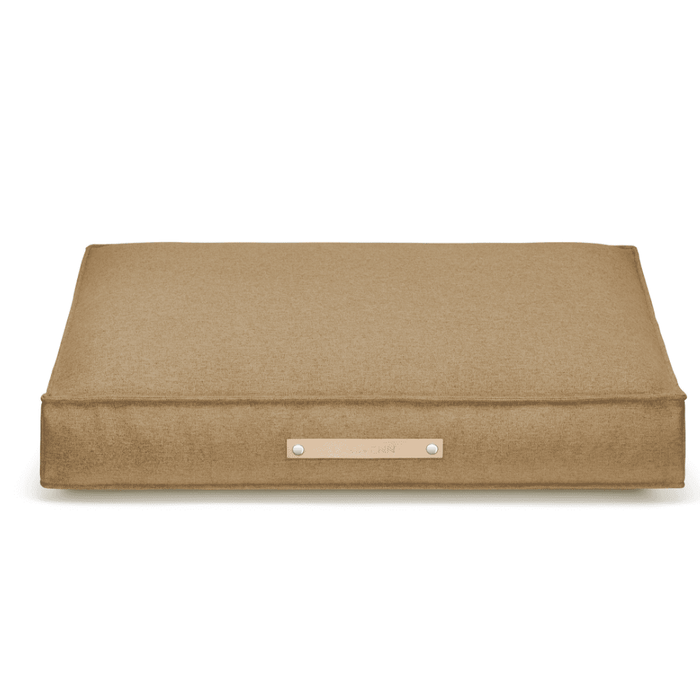 MØVIK Luxury Dog Bed by Labbvenn in Biscuit
