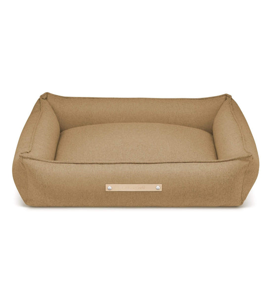 Labbvenn Luxury Dog Bed MØVIK Luxury High Side Dog Bed by Labbvenn in Biscuit PetsOwnUs - Pets Own Us