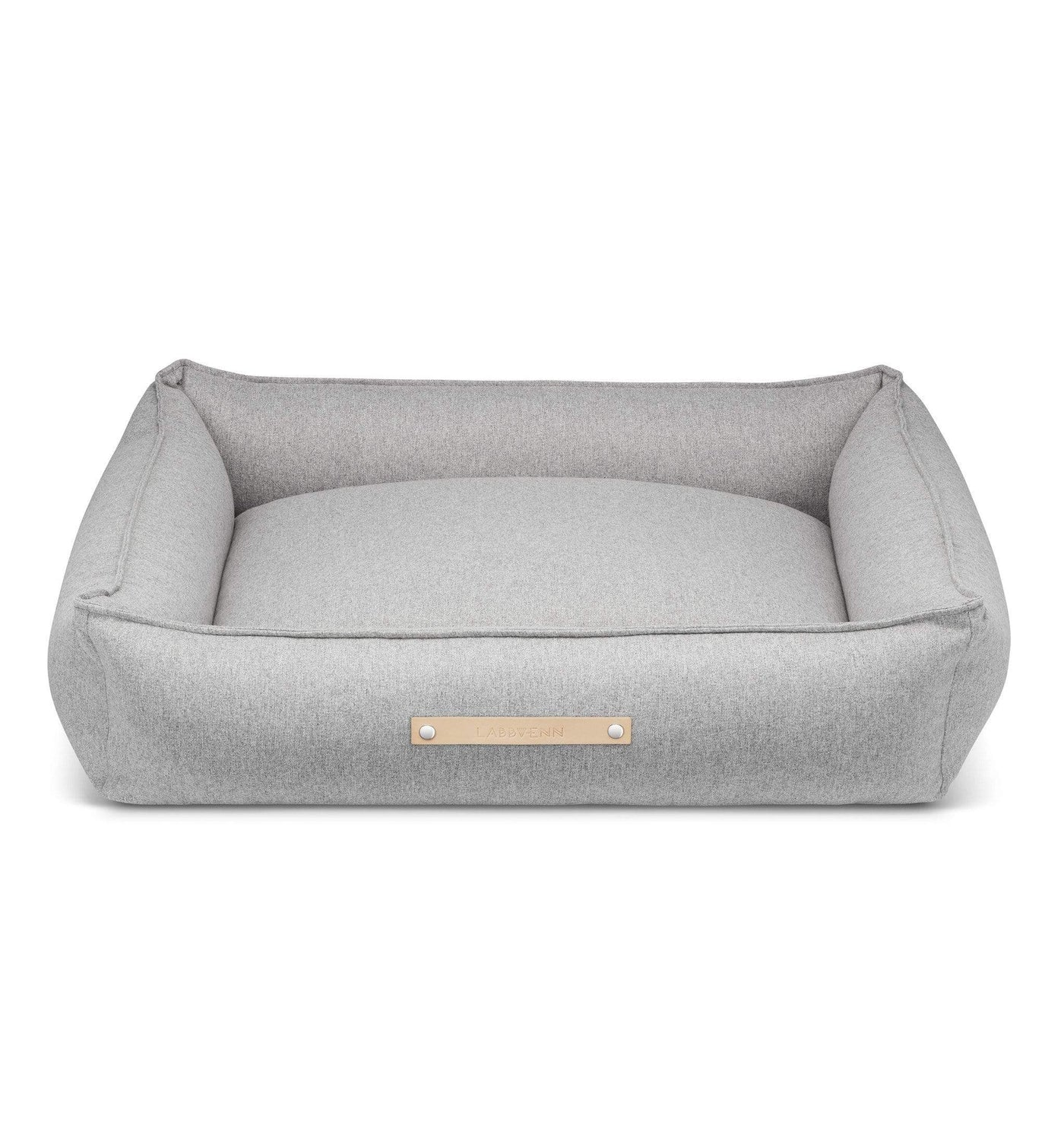 Picture of: Shop Movik Luxury Dog Bed By Labbvenn In Grey Free Uk Shipping Petsownus