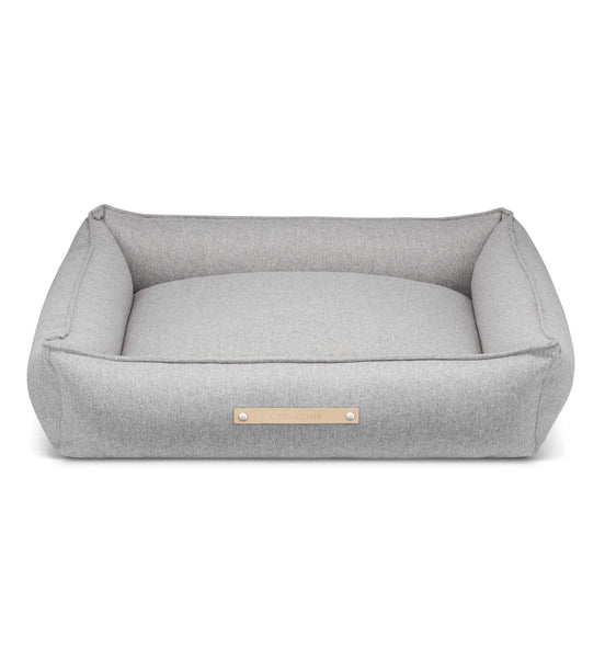 Labbvenn Luxury Dog Bed MØVIK Luxury High Side Dog Bed by Labbvenn in Grey PetsOwnUs - Pets Own Us