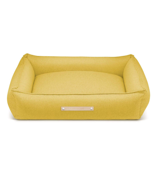 Labbvenn Luxury Dog Bed MØVIK Luxury High Side Dog Bed by Labbvenn in Honey PetsOwnUs - Pets Own Us