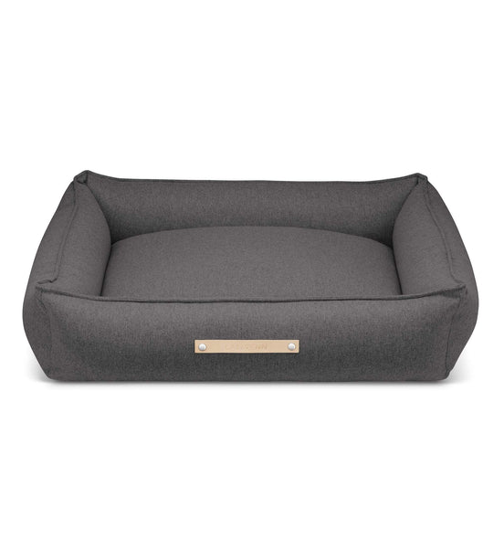 Labbvenn Luxury Dog Bed MØVIK Luxury High Side Dog Bed by Labbvenn in Light Anthracite PetsOwnUs - Pets Own Us