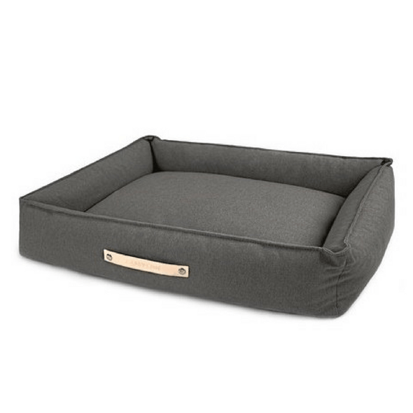 Labbvenn Luxury Dog Bed Small MØVIK Luxury High Side Dog Bed by Labbvenn in Light Anthracite PetsOwnUs - Pets Own Us