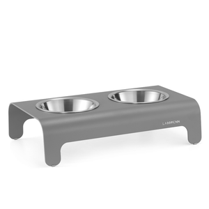 Rico Luxury Pet Bowl by Labbvenn - Grey luxury Dog Bowl  Labbvenn