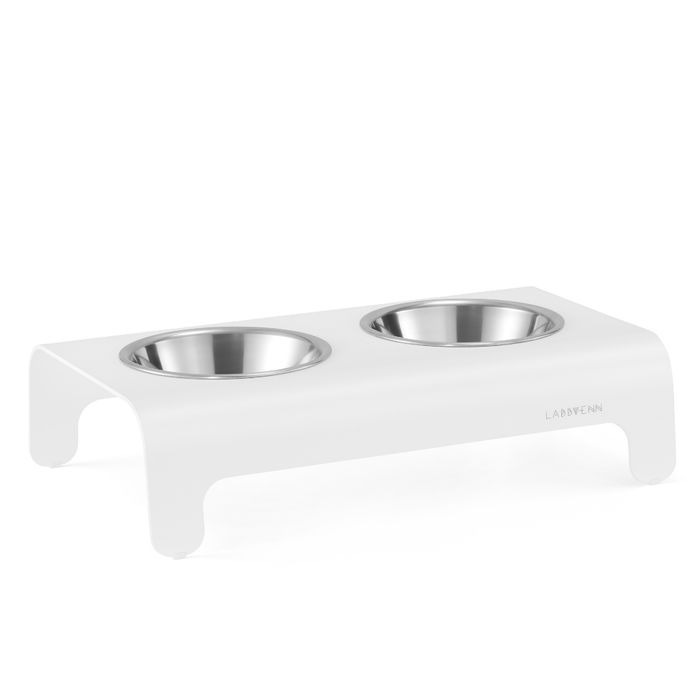 Rico Luxury Pet Bowl by Labbvenn - White