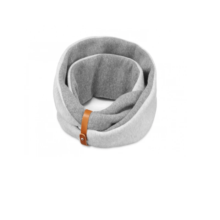 SIMO Neck Warmer By Labbvenn - Light Melange + Dark Melange