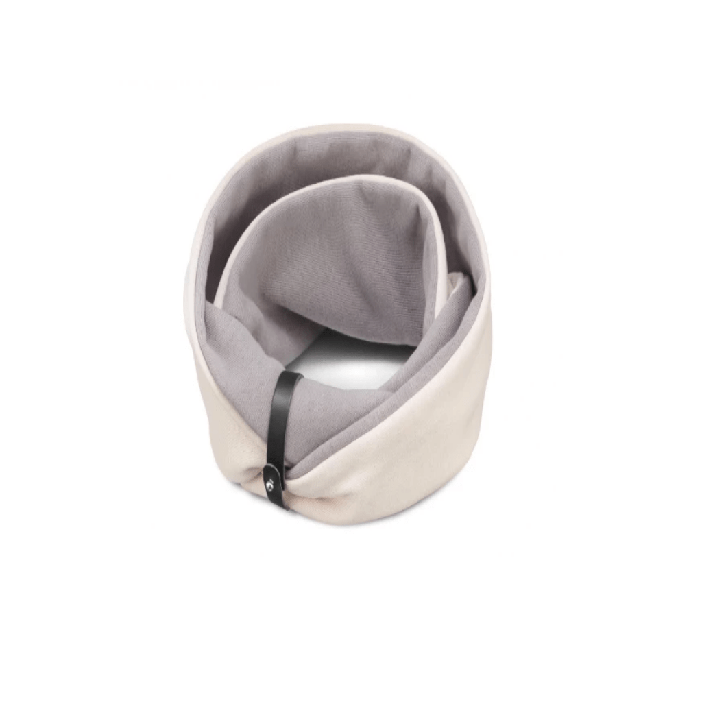 Labbvenn SIMO Neck Warmer By Labbvenn - White Sand + Steel Grey PetsOwnUs - Pets Own Us