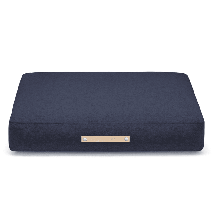 Stockholm Luxury Dog Bed by Labbvenn in Navy Blue