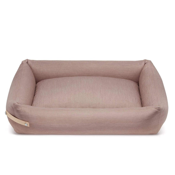 Labbvenn Luxury Dog Bed STOKKE Luxury High Side Dog Bed by Labbvenn in Pink PetsOwnUs - Pets Own Us