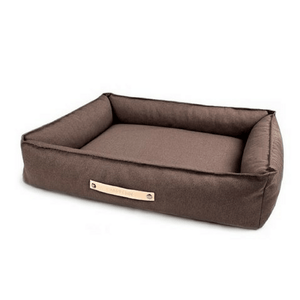 Labbvenn Luxury Dog Bed Small TÖVE Luxury High Side Dog Bed by Labbvenn in Brown PetsOwnUs - Pets Own Us