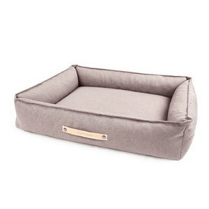 Labbvenn Luxury Dog Bed Small TÖVE Luxury High Side Dog Bed by Labbvenn in Nut PetsOwnUs - Pets Own Us