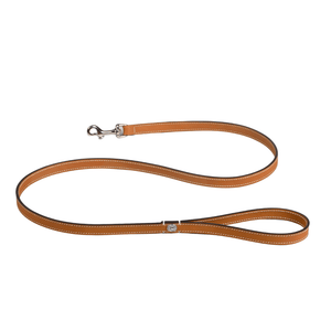 Lord Lou Dog Collar & Lead Ascot Leather Dog Leash by Lord Lou | Brown PetsOwnUs - Pets Own Us