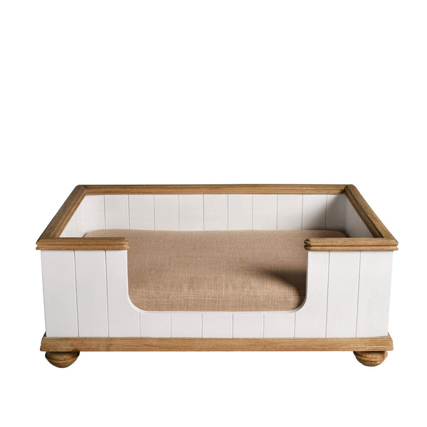 Lord Lou Dog Beds Bernard Dog Bed By Lord Lou - White PetsOwnUs - Pets Own Us