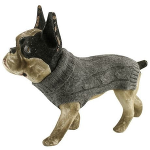 Lord Lou Dog Apparel 8 / Anthracite Brunello Cashmere Dog Sweater by Lord Lou 1000 PetsOwnUs - Pets Own Us