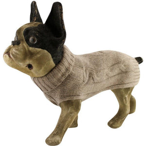 Lord Lou Dog Apparel 8 / Beige Brunello Cashmere Dog Sweater by Lord Lou 1003 PetsOwnUs - Pets Own Us