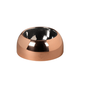 Lord Lou Pet bowls, feeders & waterers Capri Luxury Dog Bowl by Lord Lou | Copper PetsOwnUs - Pets Own Us